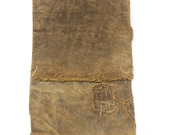 Sakabukuro. Japanese Antique Industrial Sack. Collectible Hand Made Waterproof Sake Bag. (Ref: 1317)