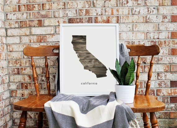 Wooded Home State *FREE domestic SHIPPING*