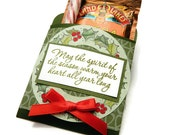 Christmas Cocoa Holder - Hot Chocolate Favor - Stocking Stuffer - Gift For Coworker - Secret Santa Gift