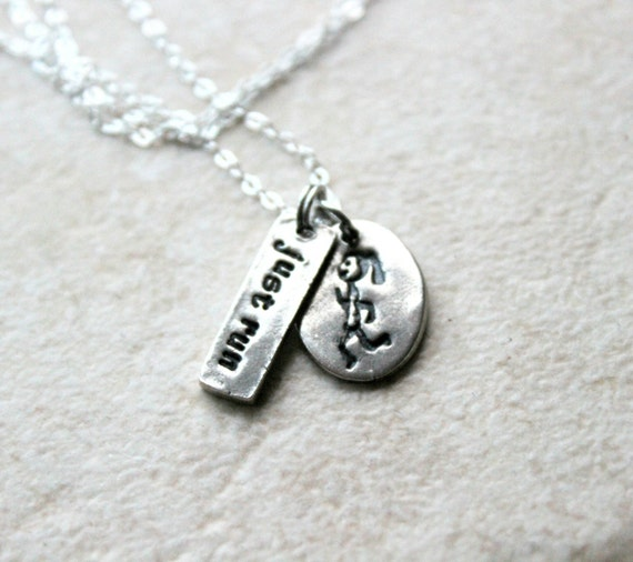 Just Run Necklace