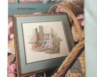 Friendship Bouquet Counted Cross Stitch Pattern by Paula Vaughan, Book 27
