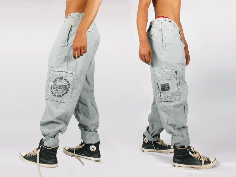 Mens Purple Jeans