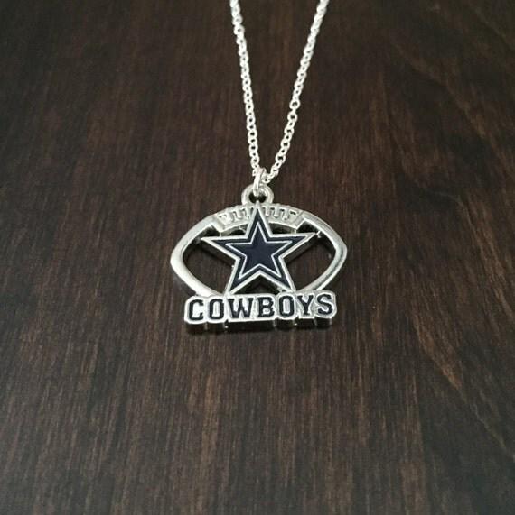 dallas cowboys dallas cowboys necklace cowboys pendant