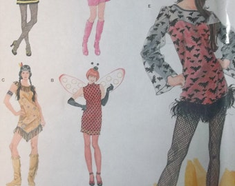 Simplicity 2324. Easy to Sew Women's COSTUME Pattern. Sizes XS-XL. Pattern is uncut and factory folded. Cute pattern!