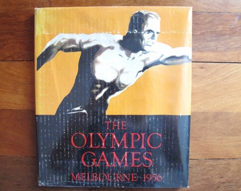 The Olympic Games Mebourne 1956 Colorgravure publication