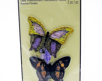Recollections Butterfly Embellishments