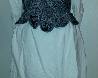 16th century based female shirt and corset