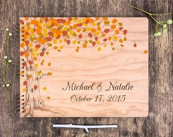Fall Wedding Guest Book, Barn Wedding, Fall Tree Wedding Album, Wedding Memory Book, Garden Wedding, Country Wedding, Guest Book Ideas