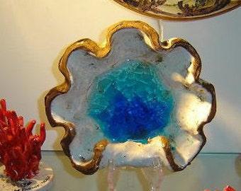 Ceramic Seashell Bowl Svuotatasche in ceramica a forma di conchiglia