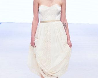SAMPLE SALE!!! The September Dress ~ Jenny Hedberg ~ Handmade Ceremonal Gown  SALE!!!!
