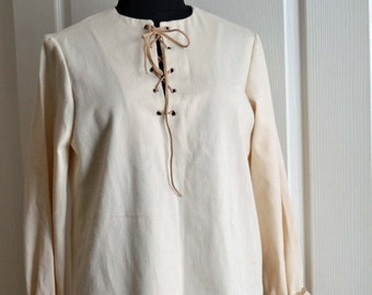 Shirt peasant, medieval, unisex
