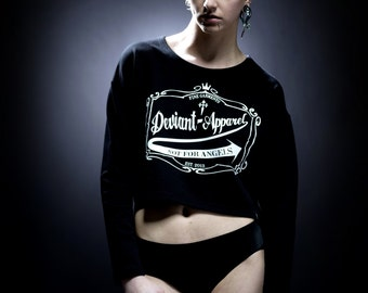 DEVIANT-APPAREL CROPTOP