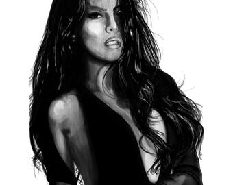 Sexy Girl In Black