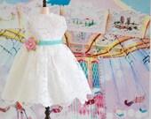 Sweet Petite Vintage Style Summer Dress for Blythe