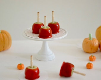 1:6 Scale Sweet Petite Play Scale Miniature Autumn Candy Apples
