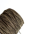 330ft Bronze Ball Chain Chain Spool  - 2.4mm - 100m - Ships IMMEDIATELY from California - CH645