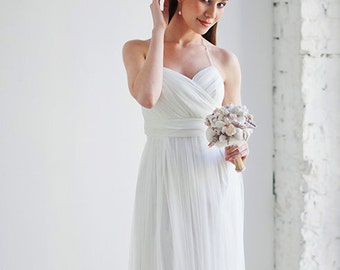 Antique wedding dress ethereal wedding dress Bohemian wedding dress for a pregnant bride Pregnant bride dress Maternity wedding dress