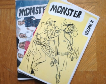 Zine Combo - Monster Vol. 1 + 2