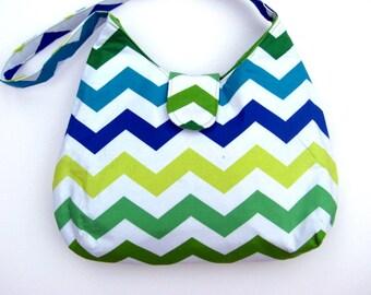 CHEVRON HOBO BAG, Chevron Purse, Shoulder Bags, Chevron Handbags, Made To Order