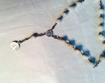 mini  vintaage Rosary