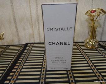 Cristalle Chanel 15ml. Fragrance Vintage US version Sealed