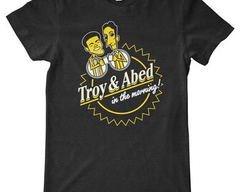 Community Troy and Abed American Apparel Tri-Blend T-Shirt