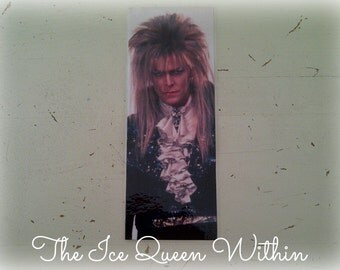 David Bowie Labyrinth Jareth the Goblin King bookmark