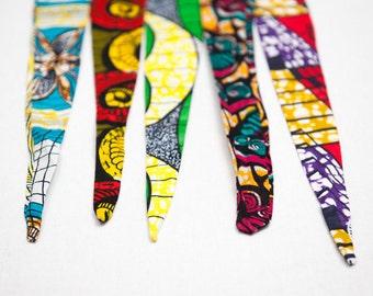 African fabric headband