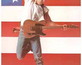 Bruce Springsteen Born IN The USA Rare Poster