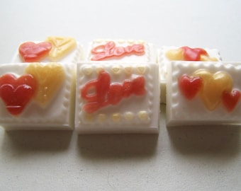 Rose-Scented Valentine's Day Soap