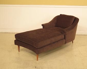 39556E Mid Century Modern Danish Modern Style Chaise Lounge : mid century chaise lounge - Sectionals, Sofas & Couches