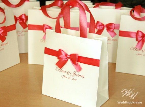 Wedding Favor Bags Coral : favorite favorited like this item add it to your favorites to revisit ...