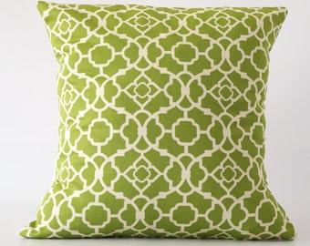 Green pillow, green throw pillow, green pillow cover, throw pillows, cushion, decorative pillows