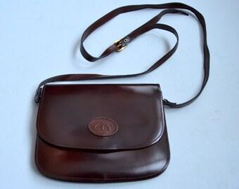 Brown Leather Shoulder bag Satchel Purse Crossbody Messenger Bag  Mini Crosbody Bag Tan leather bag