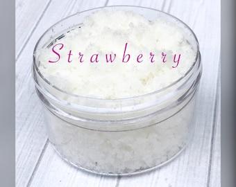 Strawberry Sugar Lips lip Scrub, lip scrub, sugar scrub, exfoliate