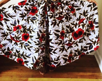 White Flowery Skirts
