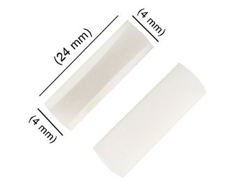 Pair of Replacement Nylon Plastic Jaws For Parallel Pliers Jewelry Tool - PLR-0073