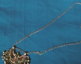 Vintage Afghan pendant necklace