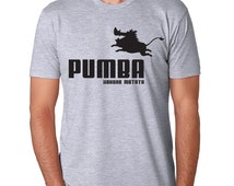 Pumba Iron On Transfer Printable Lion King Family Vacation couple matching t-shirt Disneyland Disney world relationship Puma