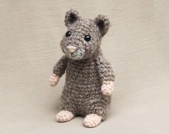 Amigurumi crochet hamster pattern