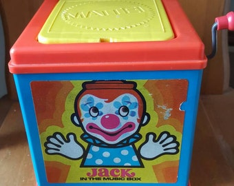 Vintage Jack in the box