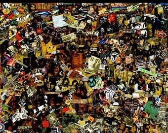 Rock-N-Roll Collage - Large - 47x60