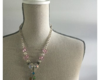Funcky 50's Crystal Beaded Necklace
