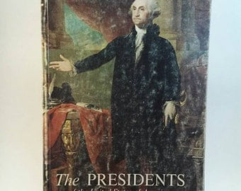 Vintage The Presidents book from 1973