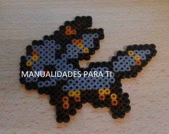 Hama beads Pokémon umbreon