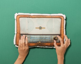 FunPrint Retro Radio pillow
