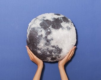 FunPrint Moon pillow