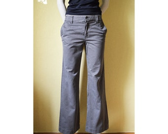 Vintage gray trousers, classic trousers, classic pants, women's pants, women's trousers, free time pants, everyday trousers, girl's pants 67