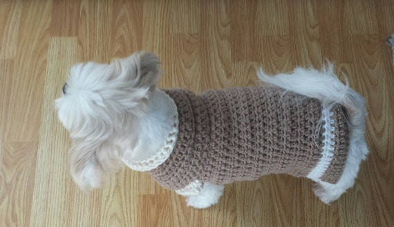 Lou Lou Easy Crochet Dog Sweater Pattern from ...