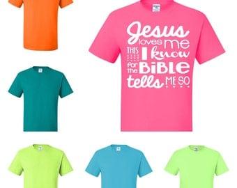 Jesus Loves Me T-Shirt - Attitude Apparel